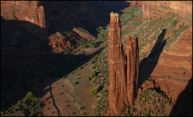 Canyon de Chelly National Park - Spider Rock, Arizona - USA