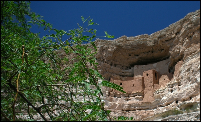 Montezuma Castle National Monument, Arizona - USA