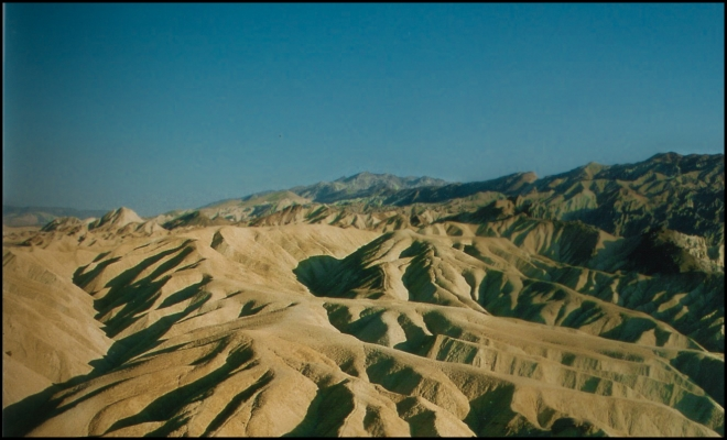 Death Valley - Zabriskie Point, California - USA