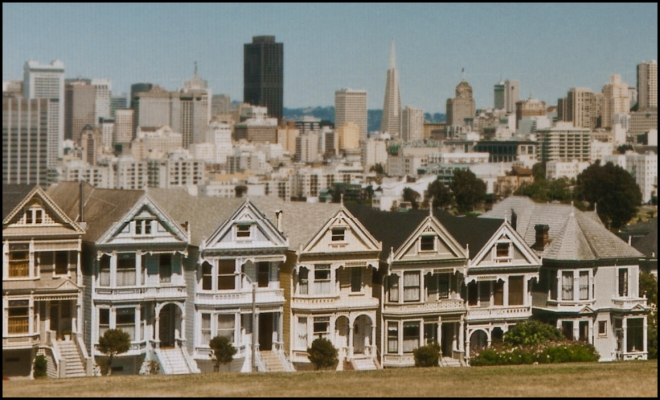 San Francisco - Alamo Square, California - USA