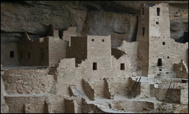 Mesa Verde National Park - Kiva, Colorado - USA