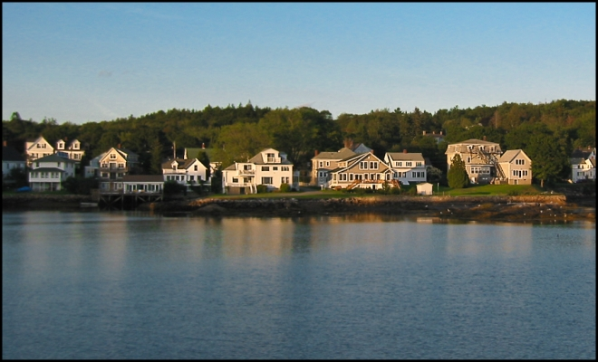 Boothbay Harbor - New England, Maine - USA