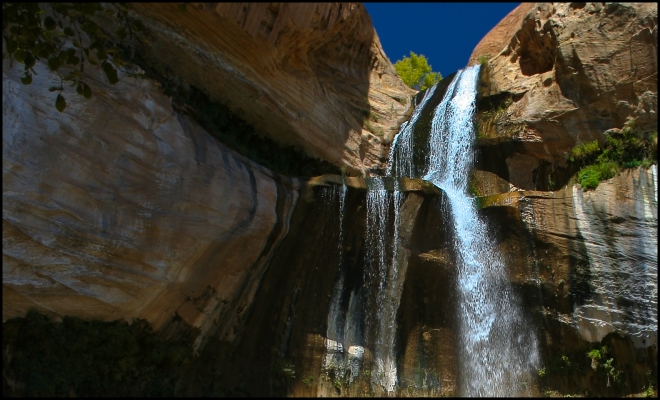 Lower Calf Creek Falls Recreation Area, Utah - USA